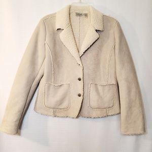 Chico's fleece lined jacket.